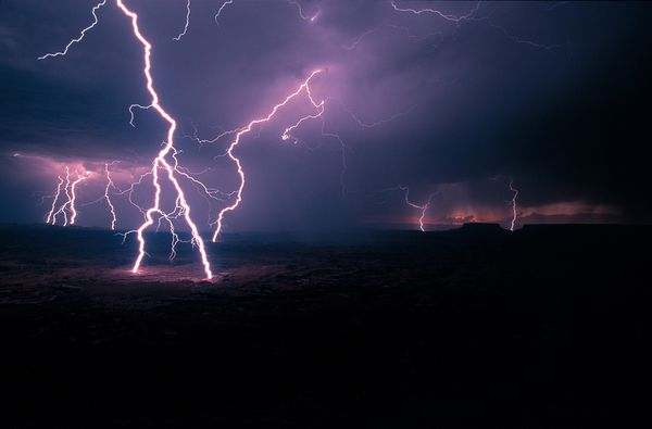 forces of nature lightning